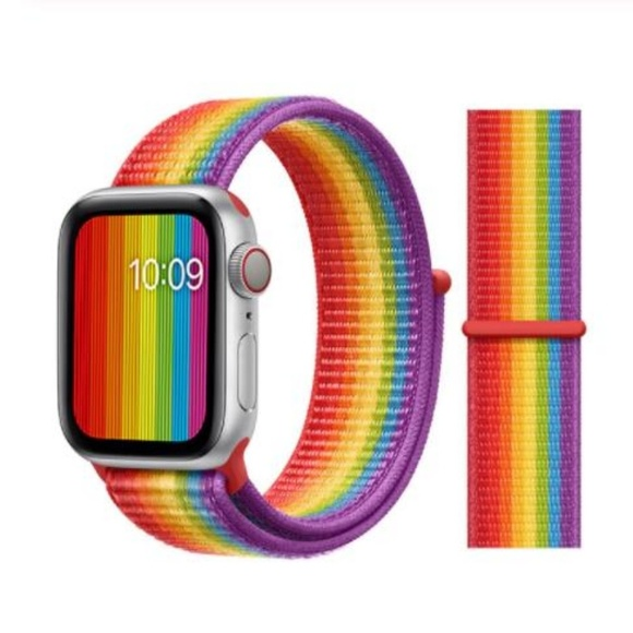 Accessories - ❤️NEW Rainbow Sport Loop Strap For Apple Watch